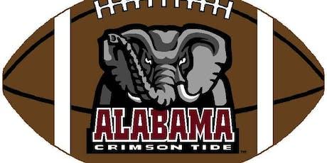 Alabama University tickets