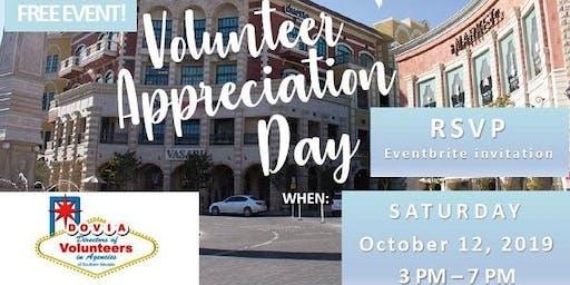 DOVIA's Community Wide Volunteer Appreciation
