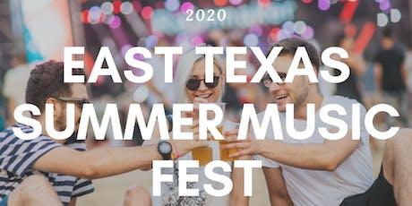 East Texas Music Fest tickets