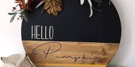 Hello Pumpkin Workshop tickets