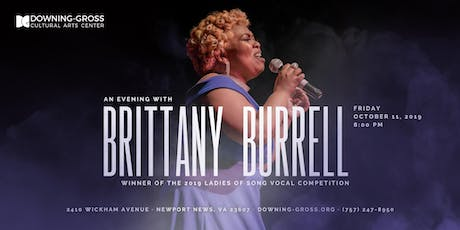 An Evening with Brittany Burrell tickets