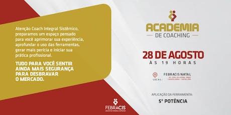 [NATAL/RN] Academia de Coaching bilhetes