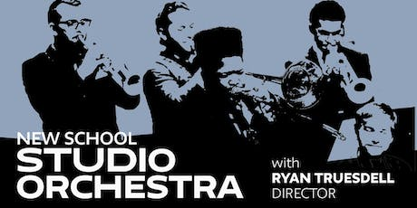 New School Studio Orchestra Concert with Ryan Truesdell, Director tickets