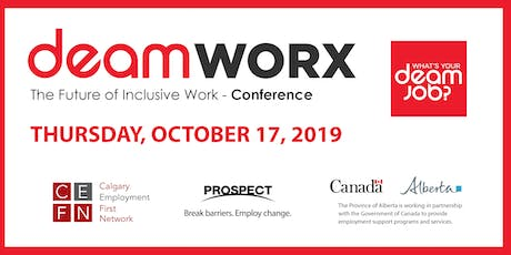 deamWORX Conference: The Future of Inclusive work tickets
