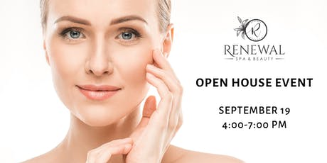 FREE Open House Event - Renewal Spa & Beauty tickets