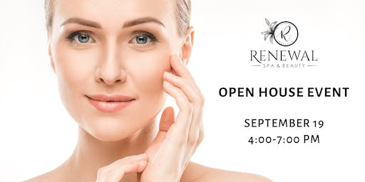 FREE Skincare Educational Open House Event - Renewal Spa & Beauty