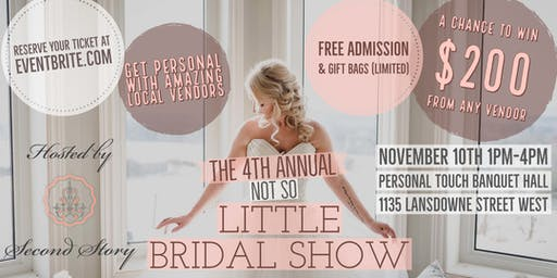 4th Annual Not So Little Bridal Show