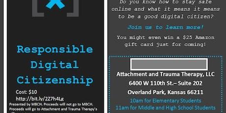 Responsible Digital Citizenship tickets