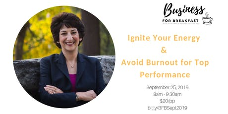 Business Networking: Ignite Your Energy with Chris Vasiliadis tickets