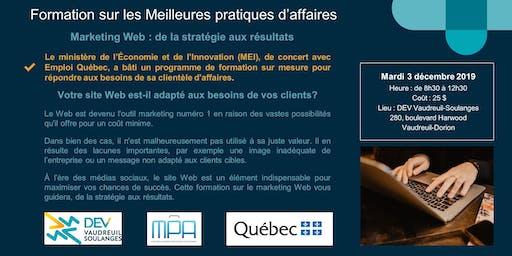 Formation MPA : Marketing Web - de la stratégie aux résultats *COMPLET*