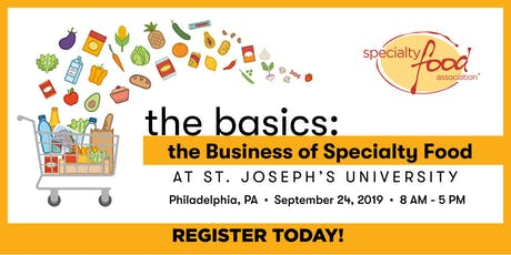 The Basics: The Business of Specialty Food tickets