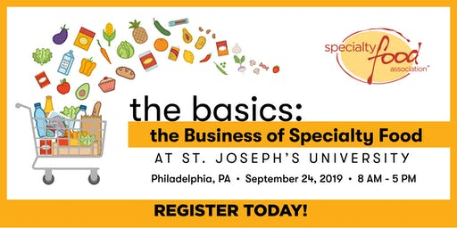 The Basics: The Business of Specialty Food