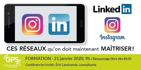 Instagram et LInkedin... en mode développement d'affaires! billets