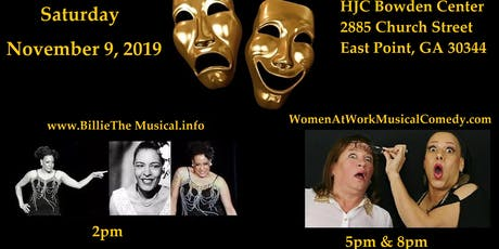 MJ Theater Cafe Presents...Billie The Musical & Women@Work! Musical Comedy tickets