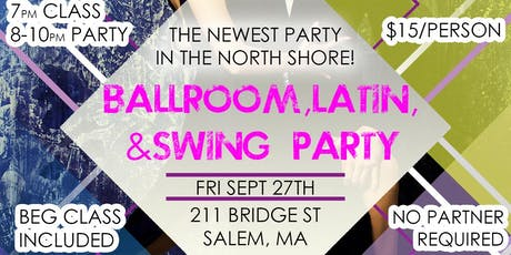 Ballroom, Latin, and Swing Party tickets