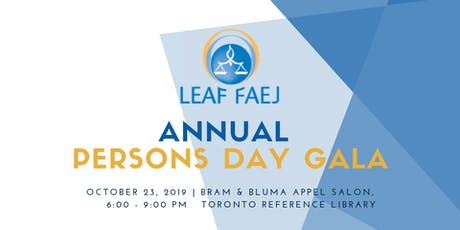 LEAF Persons Day Gala tickets
