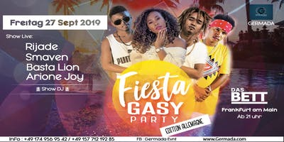 FIESTA GASY PARTY ALLEMAGNE