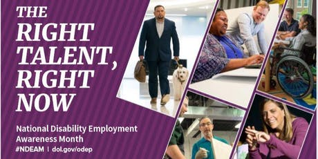 WeCo's National Disability Employment Awareness Month Employment Workshop tickets