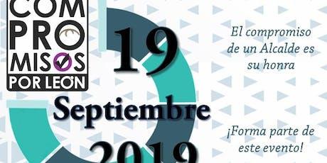 Análisis de Compromisos por León 2019 entradas