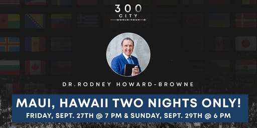 Rodney Howard-Browne in Maui, Hawaii
