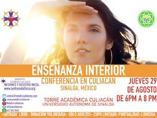 ENSEÑANZA INTERIOR- Conferencia en Culiacán entradas