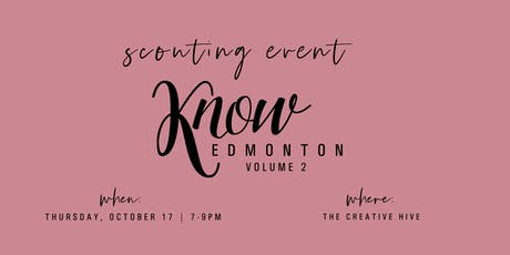 KNOW Edmonton Scouting Event tickets