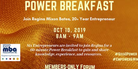 NBMBAA Atl-Chapter: Six-60 Power Breakfast for Entrepreneurs tickets