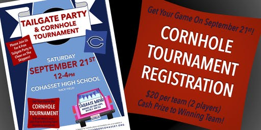 Cornhole Tournament Registration