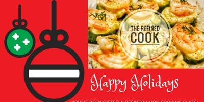 Holiday Gift Certificates for Refined Cook cooking classes