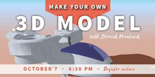 Make Your Own 3D Model