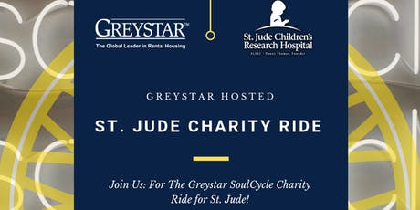Greystar SoulCycle Charity Ride for St. Jude tickets