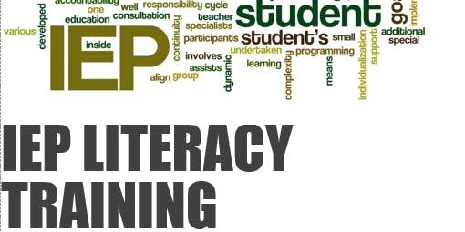 IEP Literacy Training presented by OCRA & CVASA