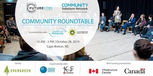 Community Roundtable | Cape Breton, NS