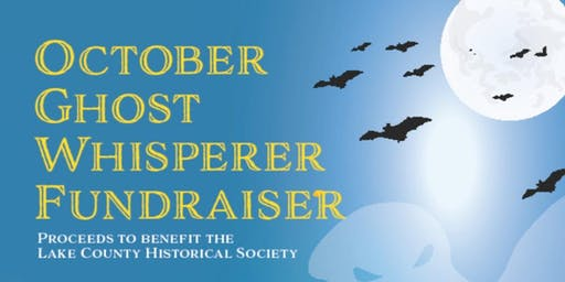October Ghost Whisperer Fundraiser