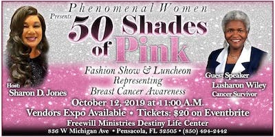 50 Shades of Pink Fashion Show & Luncheon