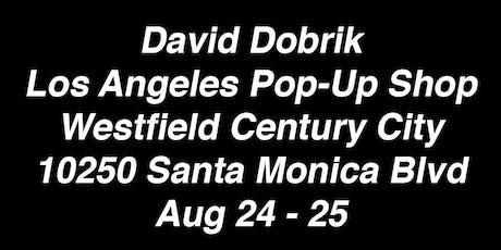David Dobrik Pop-Up Shop tickets