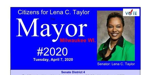 Citizens for Lena C. Taylor for Mayor of Milwaukee, 2020