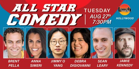 Jimmy O Yang, Jamie Kennedy, and more - All-Star Comedy! tickets