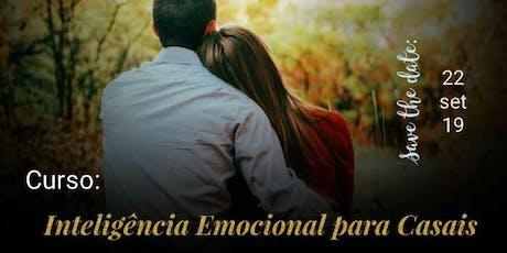 Curso Inteligência Emocional para Casais tickets