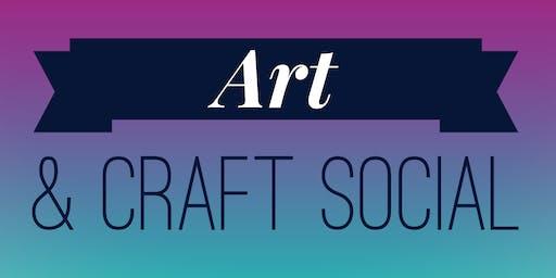 Art & Craft Social - October 2019