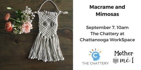 Macrame and Mimosas tickets