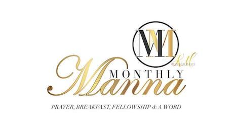 Monthly Manna: Saturday Prayer, Faith & Fellowship tickets