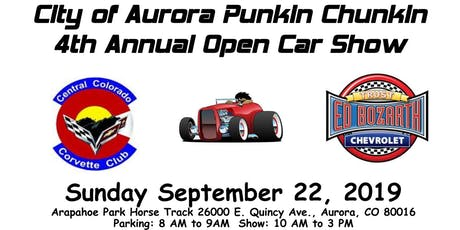 2019 Punkin Chunkin Open Car Show tickets