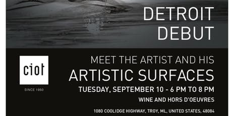 Alex Turco - Ciot Detroit Debut tickets