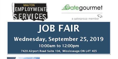 Gate Gourmet Job Fair (Aeroline Catering Services) tickets
