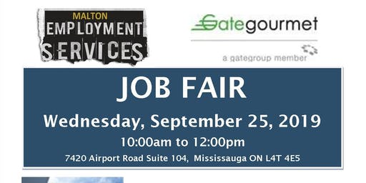 Gate Gourmet Job Fair (Aeroline Catering Services)