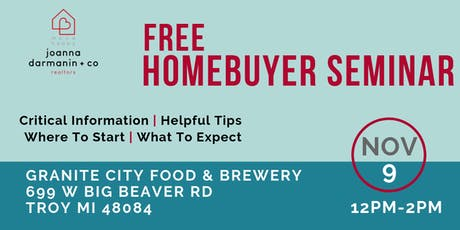 FREE Home Buying Seminar- Let's Taco 'Bout Buying A Home! tickets