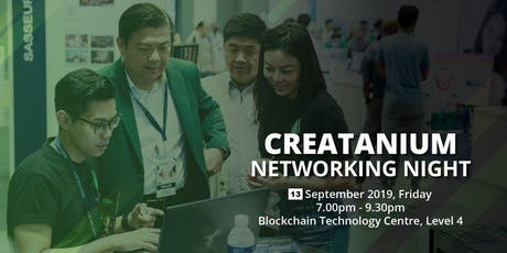 Creatanium Networking Night tickets