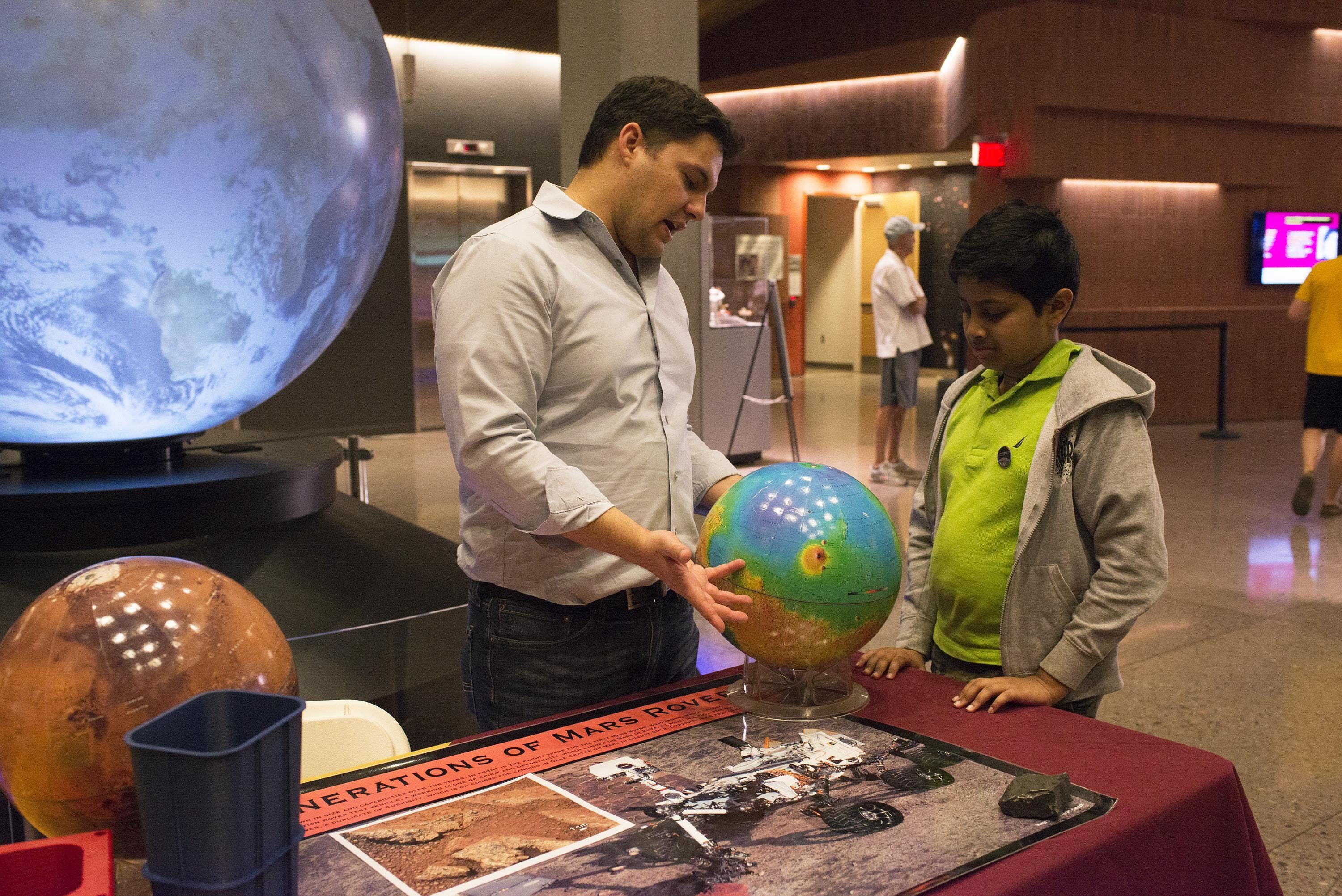 Earth and Space Exploration Day 2019