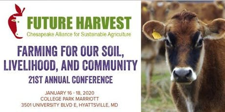 2020 Farming for our Soil, Livelihood, and Community - 21st Annual Conference tickets